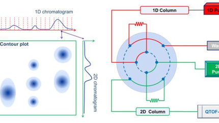 Comprehensive two-dimensional Liquid Chromatography (LCxLC)