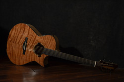 Maple/Flamed Redwood