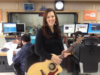 Radio Interview in Seoul