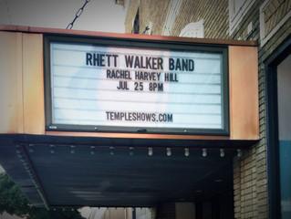 Opening for Rhett Walker Band