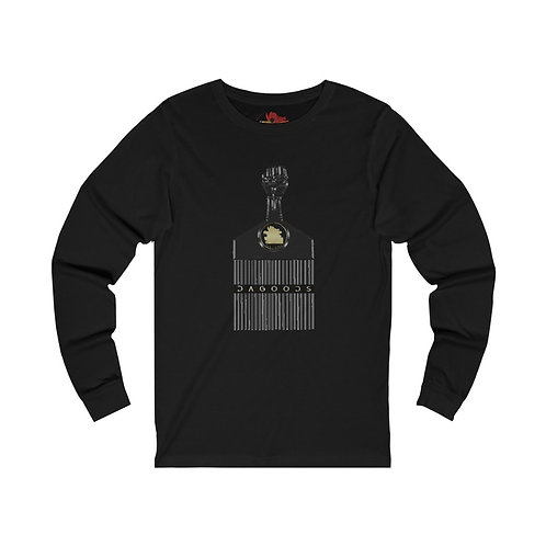 Black Fist of Power Long Sleeve Tee