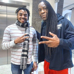 Christian Cordan and Booker T