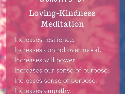 Loving Kindness is needed now more than ever