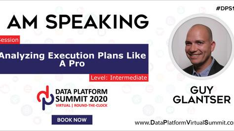 I am Speaking at Data Platform Summit 2020