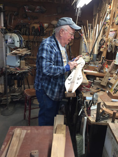 Each dulcimer is given individual detail