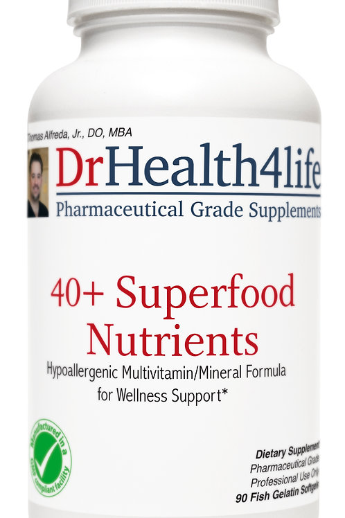 40+ Superfood Nutrients
