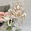 Thumbnail: 🤍🔱 Guinevere Cream White Gold Diamond Jewel Sea Shell Mermaid Crown Headband