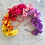 Thumbnail: 🌈💐 Rainbow Colours 🌈💐 Tropical Flower Crown Hair Band Headband