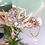 Thumbnail: 🌜Moon Shine Pastel Pink Crystal Sea Shell Mermaid Crown Hair Band Headband