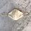Thumbnail: Luxury Silk Satin Face Mask Covering Gold Chain Necklace