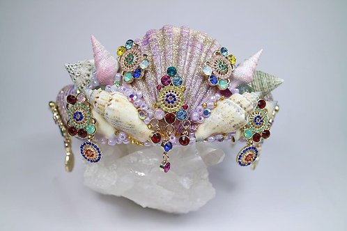 Treasure Trove Sea Shell Mermaid Crown Hair Head Band
