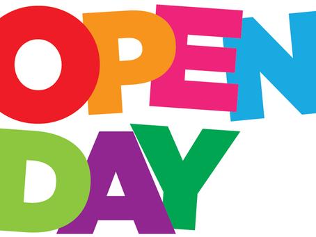 Open Event Saturday 16th November 1pm to 5pm