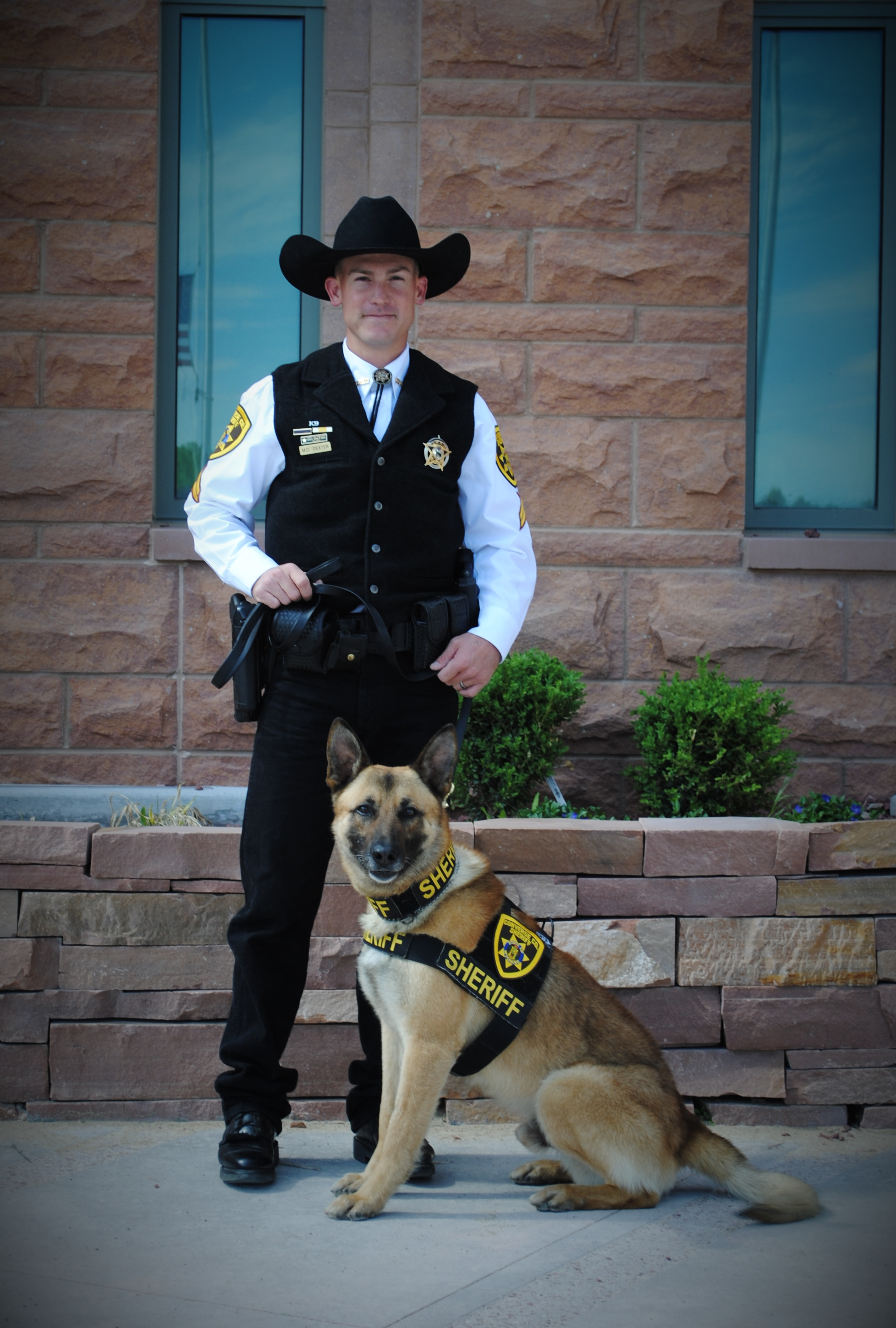 Cpl. Dexter and Trigger