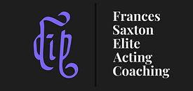 Frances Saxton Elite Acting Coaching Log