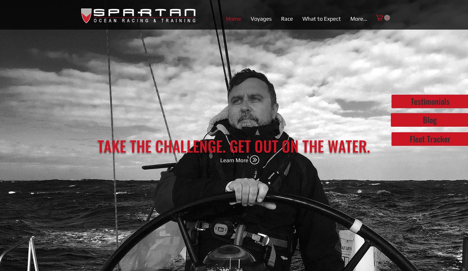 Spartan Website Redesign