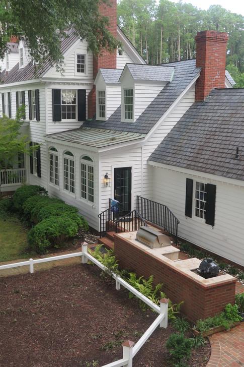 Renovation at a historic home