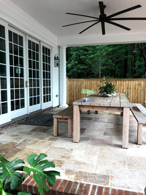 Pool House Dining