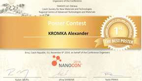 Award for research on diamond for biology