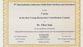 Award for research on diamond/GaN heterostructures Primary tabs