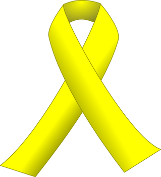 Do You Know What A Yellow Ribbon Tied Around A Leash Means?