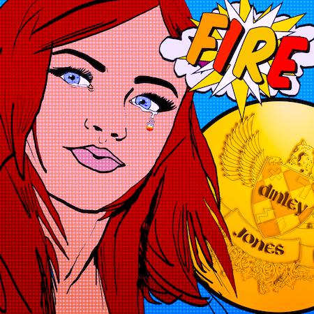 Dinley Jones - Fire - Booshu (R & B Pop Vocal-HIT)