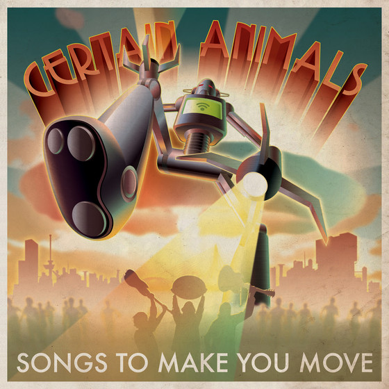 New release: debut album by Certain Animals - Songs To Make You Move
