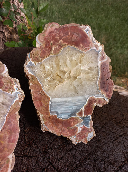 Large! Crystal and Agate Thunder Egg