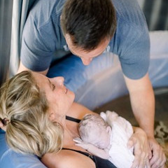 Lawson's homebirth story, April 3, 2021