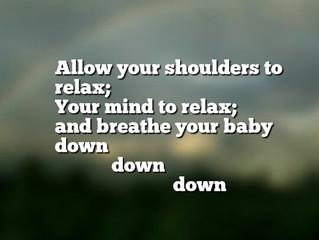 Birth Affirmation: Down, down, down