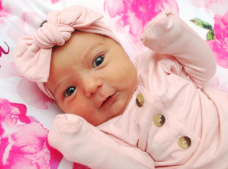 Announcing the sweet Ava Mackenzie, born May 18, 2019 to proud parents Jessica and Jim