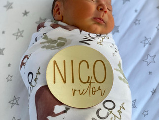 Nico Victor's Birth Story; A Video Birth Story