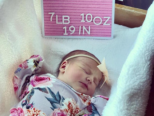 Introducing baby Remi Leighton, our latest Fort Myers doula baby born to a determined 2nd time mom!