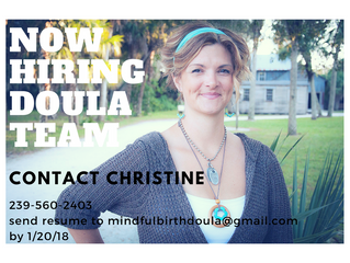 Calling All Doulas! Now Hiring: Doula Team