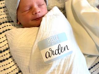 """""""Do doulas attend and assist with epidural supported births?"""" That's a Yes! Welcome baby Arden!"""