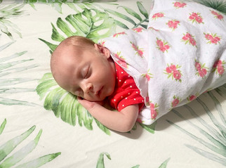 Welcome, Frances Lynn! Born 8/10/20