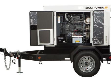 Allmand portable diesel power generation.
