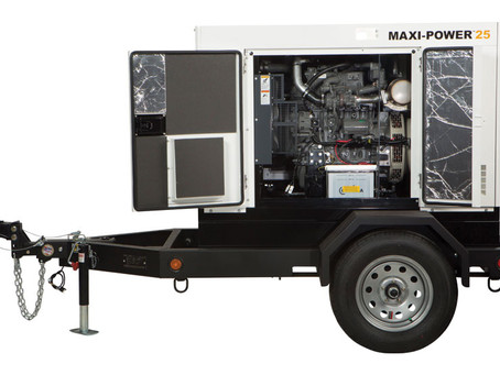 Allmand portable diesel power generation.