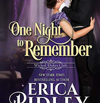 One Night to Remember - Erica Ridley