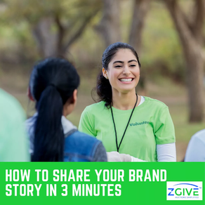 How To Share Your Brand Story in 3 Minutes