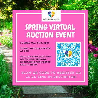 YOU ARE INVITED TO OUR VIRTUAL AUCTION E