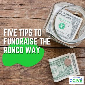 Five Tips to Fundraise the Ronco Way
