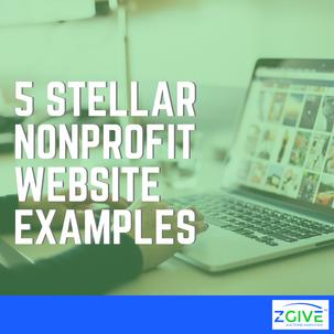 5 Stellar Nonprofit Website Examples