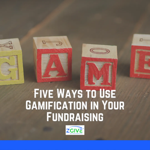 Five Ways to Use Gamification in Your Fundraising