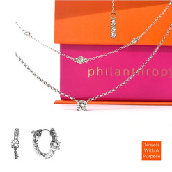 DELICATE AND CHIC SET IN WHITE GOLD