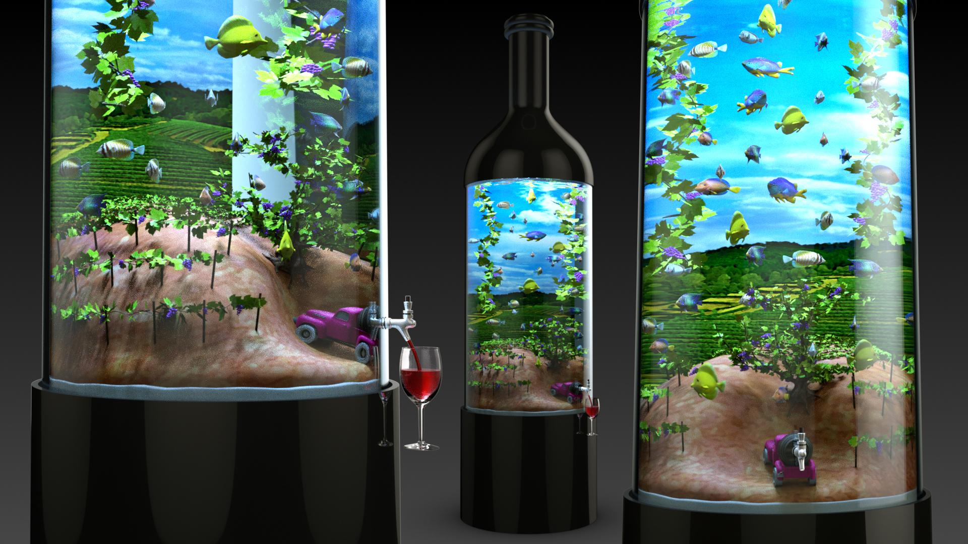 All-Star Wine & Spirits Vinyard Tank