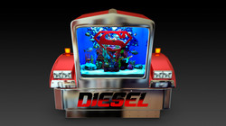 Shaquille O'Neal's Diesel Tank