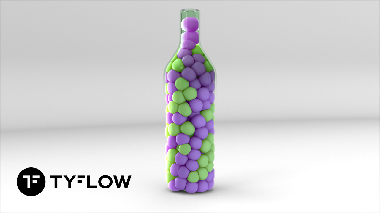 tyFlow Cuda Grapes