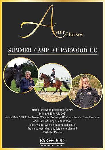 Aster Horses Summer Camp at Parwood EC