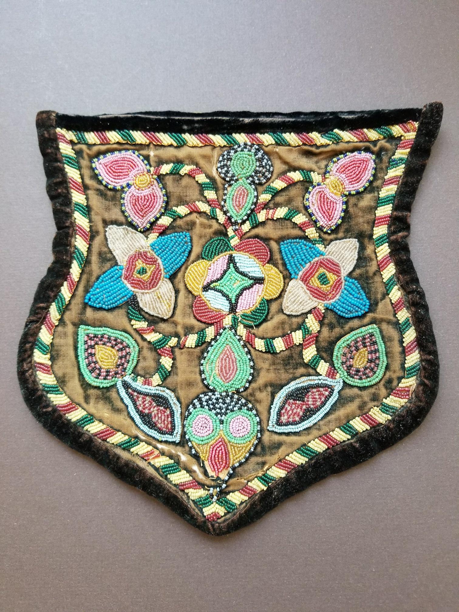 # Iroquois beadwork, ca. 1890