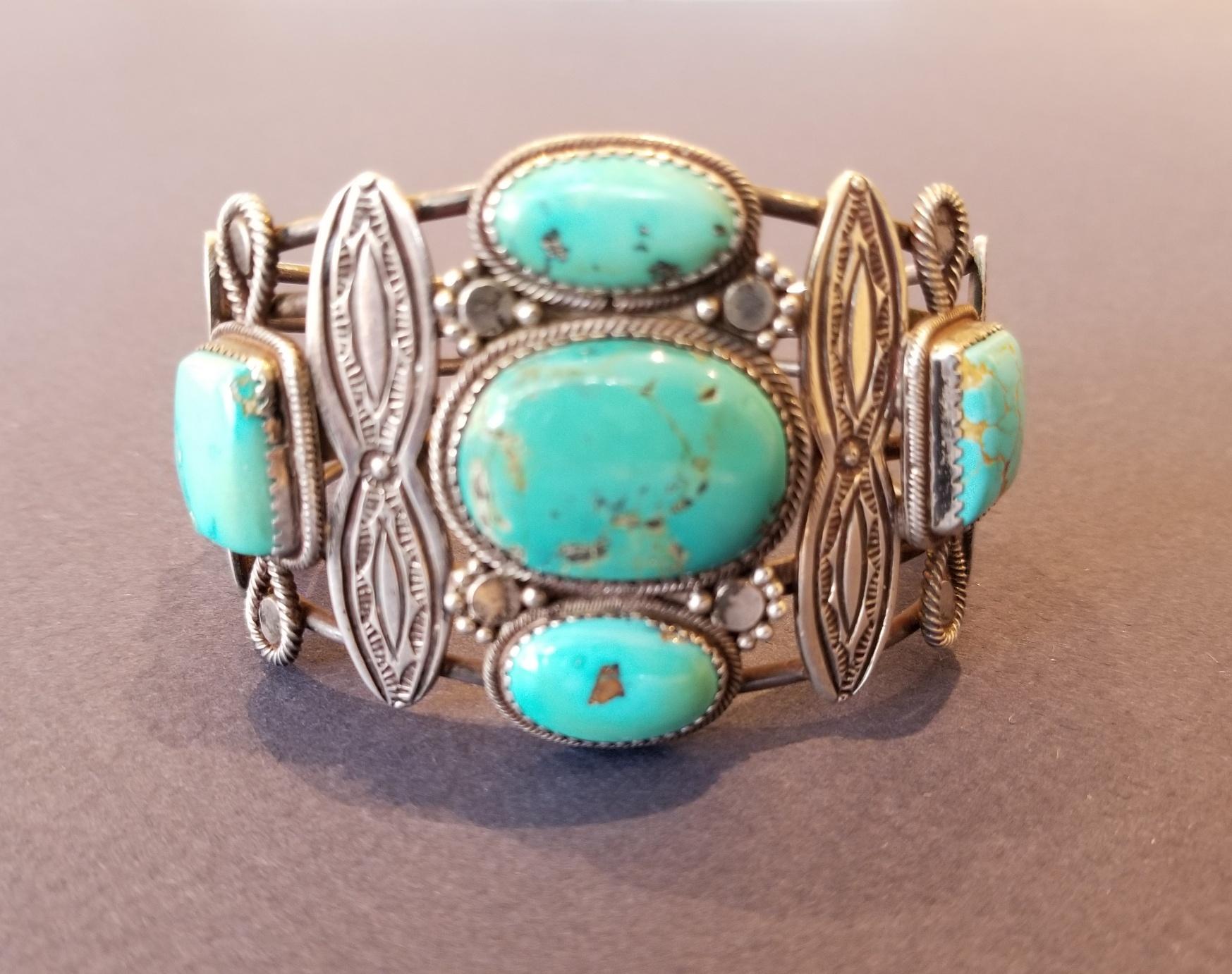 Navajo or Pueblo intricate cuff